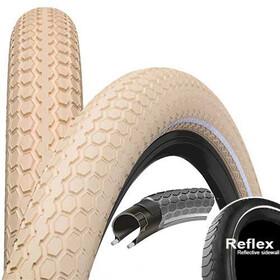 "Continental Ride Cruiser - Pneu vélo - 28"" E-25 Reflex beige"